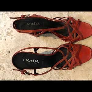 Prada wedge size 37.5